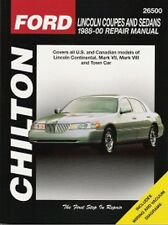 1988 - 2000 Lincoln Continental Mark VII Mark VIII Town Car Repair Manual 3148
