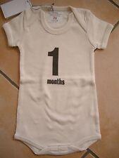 (X189) Imps & Elfs Baby Body Strampler ohne Beine + Druck & Logo Aufnäher gr.56