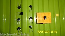 8pcs infrared LED photo Transistor reflective sensor yellow breadboard
