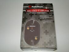 RadioShack 3GHz CABLE TV AMPLIFIER 1-in 1-Out Bidirectional    1500472