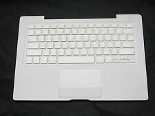 "99% NEW White Top Case w/ ThaiKeyboard Trackpad for MacBook 13"" A1181 2006 2007"