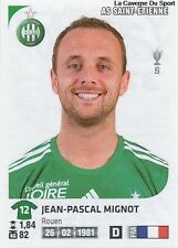N°371 JEAN-PASCAL MIGNOT # AS.SAINT-ETIENNE STICKER PANINI FOOT 2013