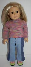 "Rare American Girl Kailey 18"" Doll - Sold Out Girl of the Year 2003"