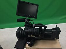 JVC GY-HD100U PROHD CAMCORDER BUNDLED W/ WIDE-ANGLE LENS, FILTERS, AND MORE