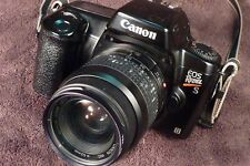 Vintage Canon EOS Rebel S II 35 mm SLR Camera w/ 35-80 mm, 1:4-5.6 Lens