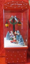 """Roh's Christmas Decoration Carolers """"Let It Snow"""" Musical & Lighted"""