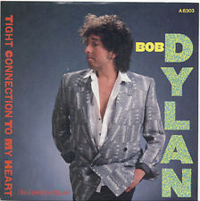 BOB DYLAN - Tight Connection To My Heart (short/long) UK PICTURE SLEEVE 45