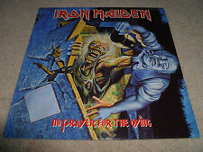 IRON MAIDEN-No Prayer For The Dying VINYL LP UK 1st PRESSING TOP COPY