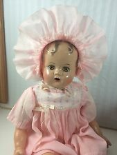 "16"" IDEAL MIRACLE ON 34TH STREET! BABY BEAUTIFUL! COMPOSITION WITH CLOTH BODY"