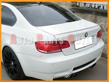 BMW E92 328i 335i 2Dr M3 Look Trunk Boot Spoiler Wing 2007-2013 - #300 White