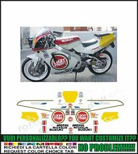 kit adesivi stickers compatibili rgv 250 gamma lucky str team