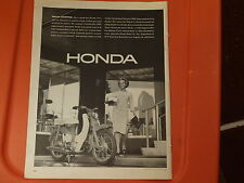 1963 Honda Mopad Vintage Ad Smart Shopper