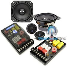 "CDT AUDIO CL-42 4"" 2-WAY CLASSIC SERIES CAR COMPONENT SPEAKERS W/ SILK TWEETERS"