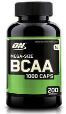 BCAA 200 Count by Optimum Nutrition Strength & Recovery Aid - Amino Acid Health