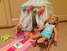 Reduced-American Girl Doll Kailey with Wardrobe & Acc. - Lovingly Cared For