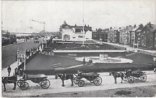 Gardens With Waiting Horses & Carraiges, South Shore, BLACKPOOL, Lancashire