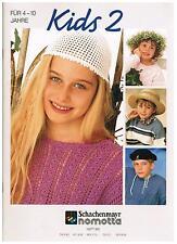 RARITÄT – Schachenmayr nomotta Kids 2, 4-10 Jahre – Heft 951, Strickmuster