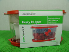 Berry Keeper Produce Progressive Prep Works Red Lunch Picnic Container