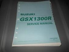 Factory OEM Suzuki 1999 GSX1300R Service Manual 9chpt