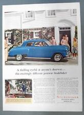 Orig 1947 Studebaker Craftsman Ad C B Altic and Junior of South Bend Ind