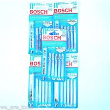 25 Bosch T-Shank Metal Jig Saw Blades T118AF Fit Dewalt, Makita,Milwaukee Jigsaw