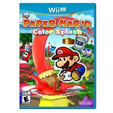 Paper Mario: Color Splash - Wii U