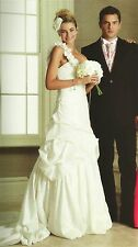 BHS Julietta Wedding Dress Size 16 Bridal One Shoulder