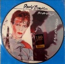 "DAVID BOWIE "" SCARY MONSTERS "" Promo Only Picture Disc Vinyl LP Brand New"
