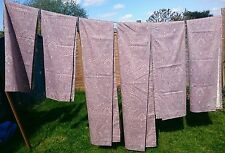 Stunning Dorma lined curtains, 3 matching pairs: 1 x 6ft drop, 2 x 4ft6 drop