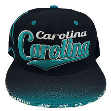 CAROLINA EMBROIDERED FLAT FLASH Snapback Cap