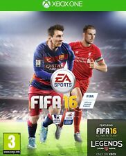 FIFA 16 (Microsoft Xbox One, 2015) FAST POSTAGE PAL