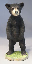 Black BEAR Cub Standing Figurine Sculpture Statue Wild Animals Wildlife New