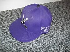 Bieber Fever Justin Bieber Hat ball hat Purple w/ crossed Hockey sticks, New