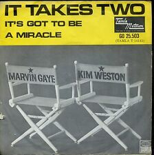 7inch MARVIN GAYE & KIM WESTON it takes two HOLLAND EX +PS 1967