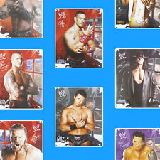 WWE 2012 STICKER PACK wrestlers wrestling bedroom wall stickers stickarounds