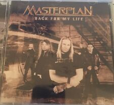 MASTERPLAN Back For My Life CD Helloween Avantasia Jorn Judas Priest Aeronautics