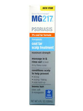 MG217 Psoriasis Therapeutic Coal Tar Scalp Treatment, Maximum Strength