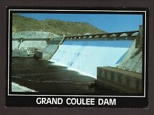 Grand Coulee Dam Postcard--Columbia River, Washington