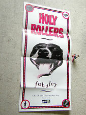 HOLY ROLLERS Fabuley orig. PROMO-POSTER DISCHORD 60 x 30 cm