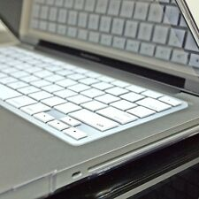 WHITE Silicone Keyboard Cover for Macbook Pro 13 15 17