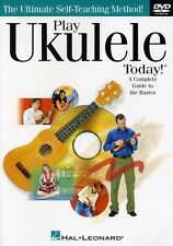 Play Ukulele Today! (2012, DVD NIEUW)