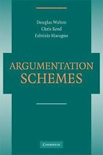 Argumentation Schemes by Fabrizio Macagno, Douglas Walton and Christopher...