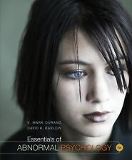 Essentials Of Abnormal Psychology by V Mark Durand