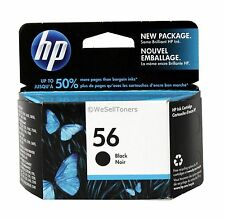 HP 56 Black Ink Cartridge C6656AN Genuine New