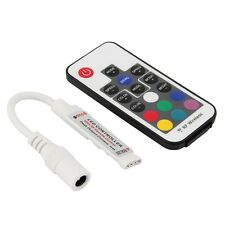 Mini 5V-24V 17 Buttons RF Wireless Remote Controller for LED Strip Lights UL