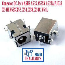 Conector DC Jack ASUS A53S A53SV A53TA PJ033 X54H K53S X52, X54, X58, X54C, X54L