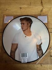 JUSTIN BIEBER - PURPOSE RECORD STORE DAY vinyl LP PICTURE DISC ~SEALED~ RSD 2016