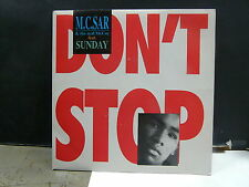 MC SAR AND THE REAL MCCOY Feat SUNDAY Don't stop 15058 CA 171