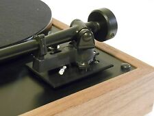Black Rega 3-pt Tonearm Armboard Mounting for Thorens TD-160,165, 166 Turntables