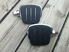Streamline Mini Four inch Passenger Footboards Floorboards for Harley Davidson